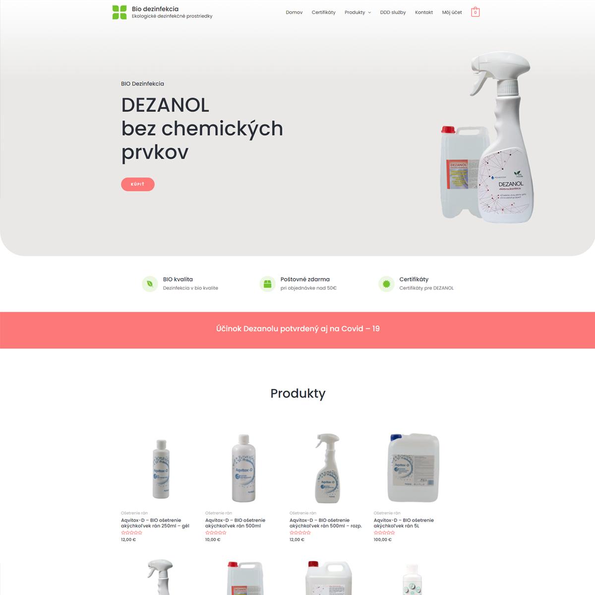 bio-dezinfekcia